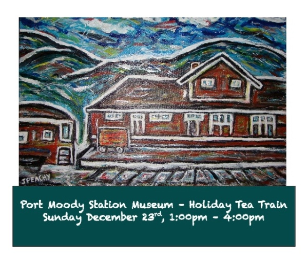 Port Moody Holiday Tea Train