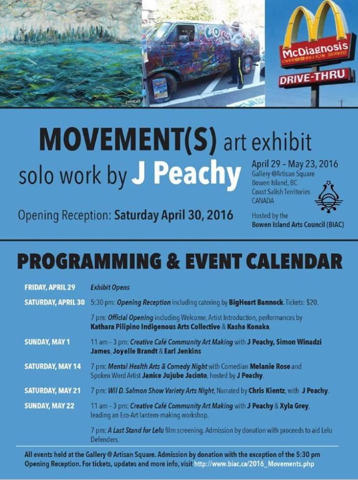 movements arts exhibition